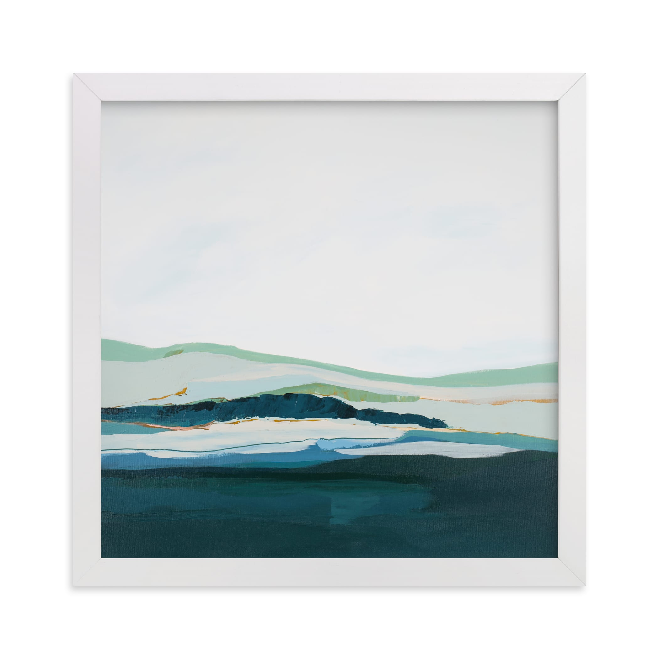 """Pacific Seascape"" - Limited Edition Art Print by Caryn Owen in beautiful frame options and a variety of sizes."