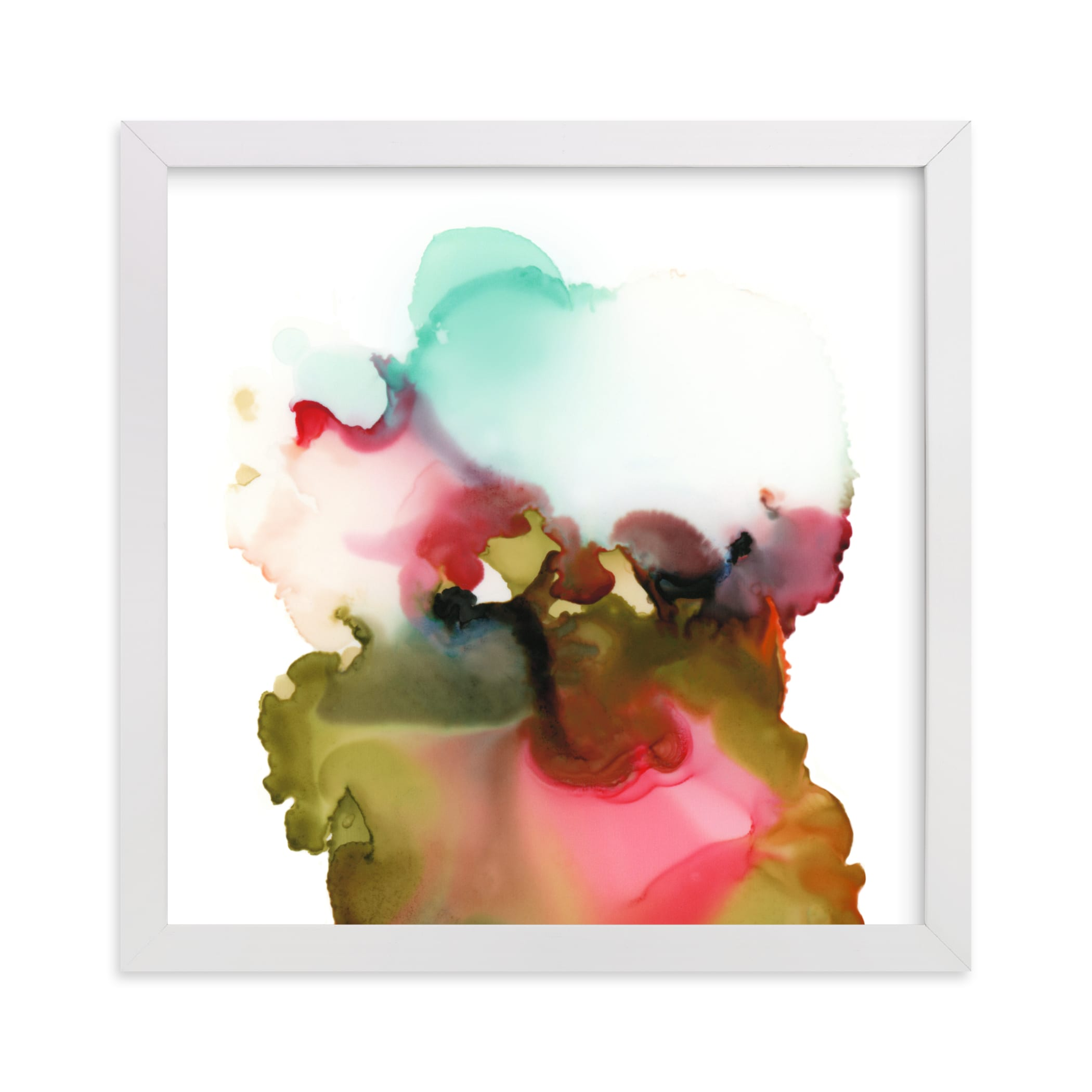 """""""Organism No4"""" - Limited Edition Art Print by Marta Spendowska in beautiful frame options and a variety of sizes."""