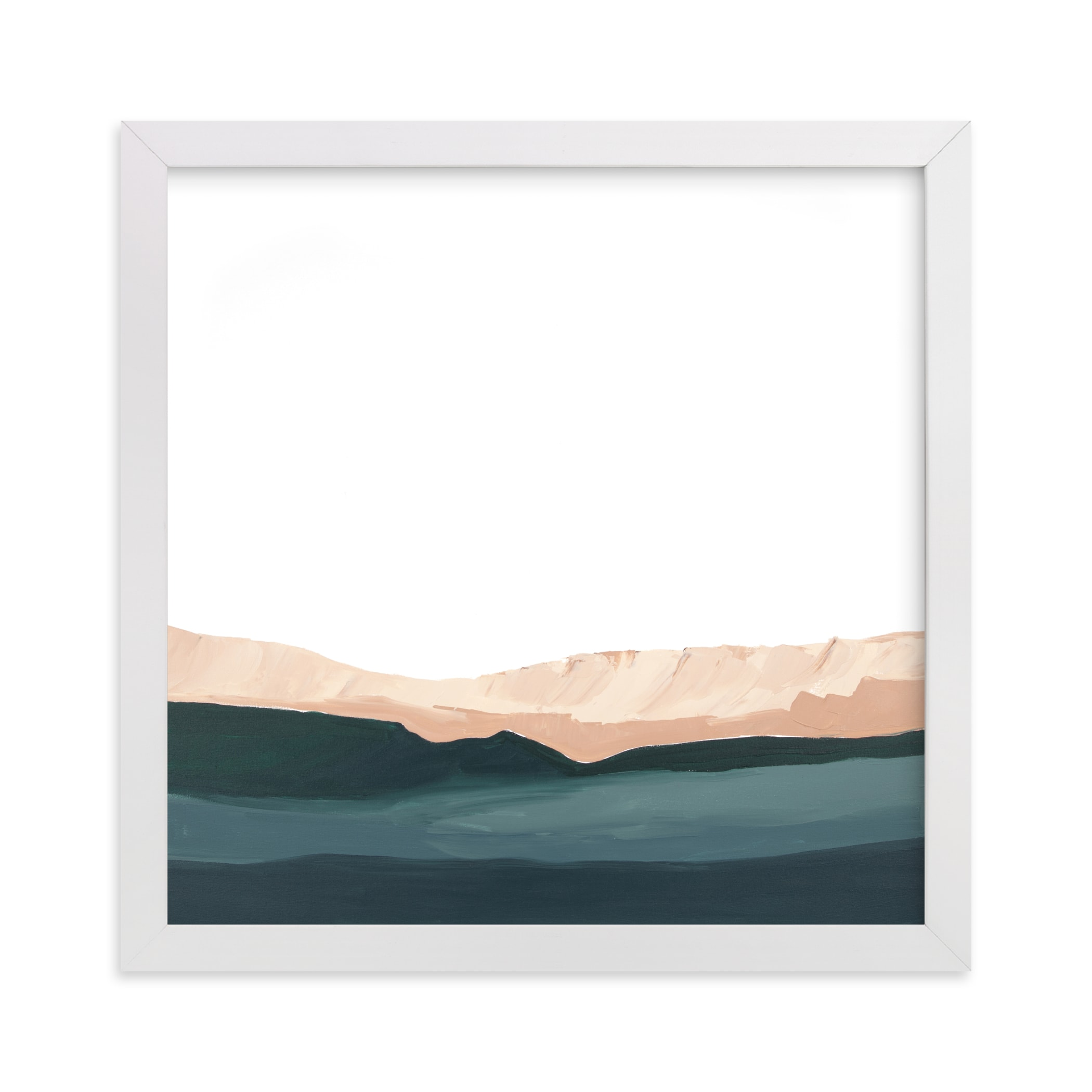 """Santa Cruz Seascape #2"" - Limited Edition Art Print by Caryn Owen in beautiful frame options and a variety of sizes."