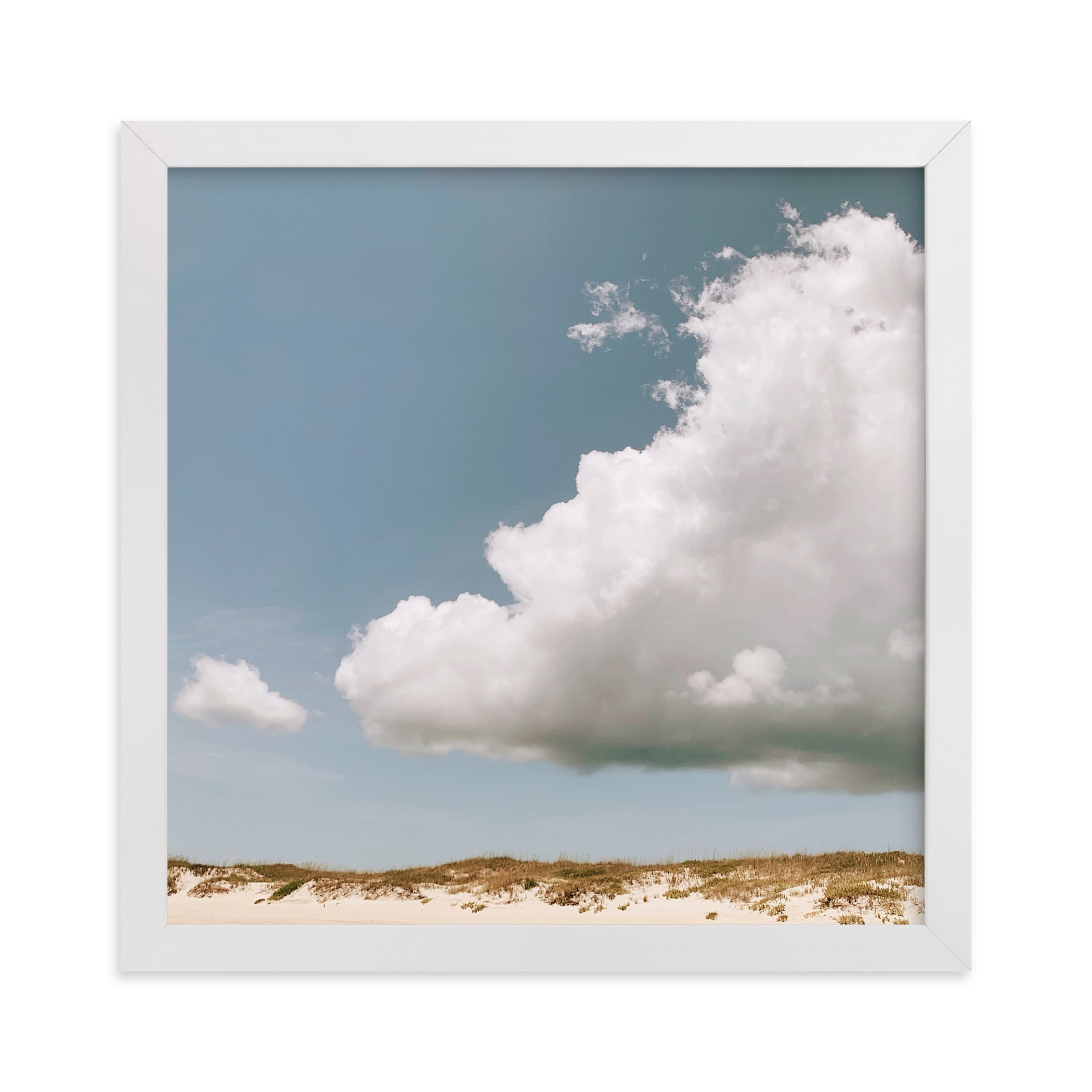 """""""Sea Turtle In The Sky"""" - Limited Edition Art Print by ALICIA BOCK in beautiful frame options and a variety of sizes."""
