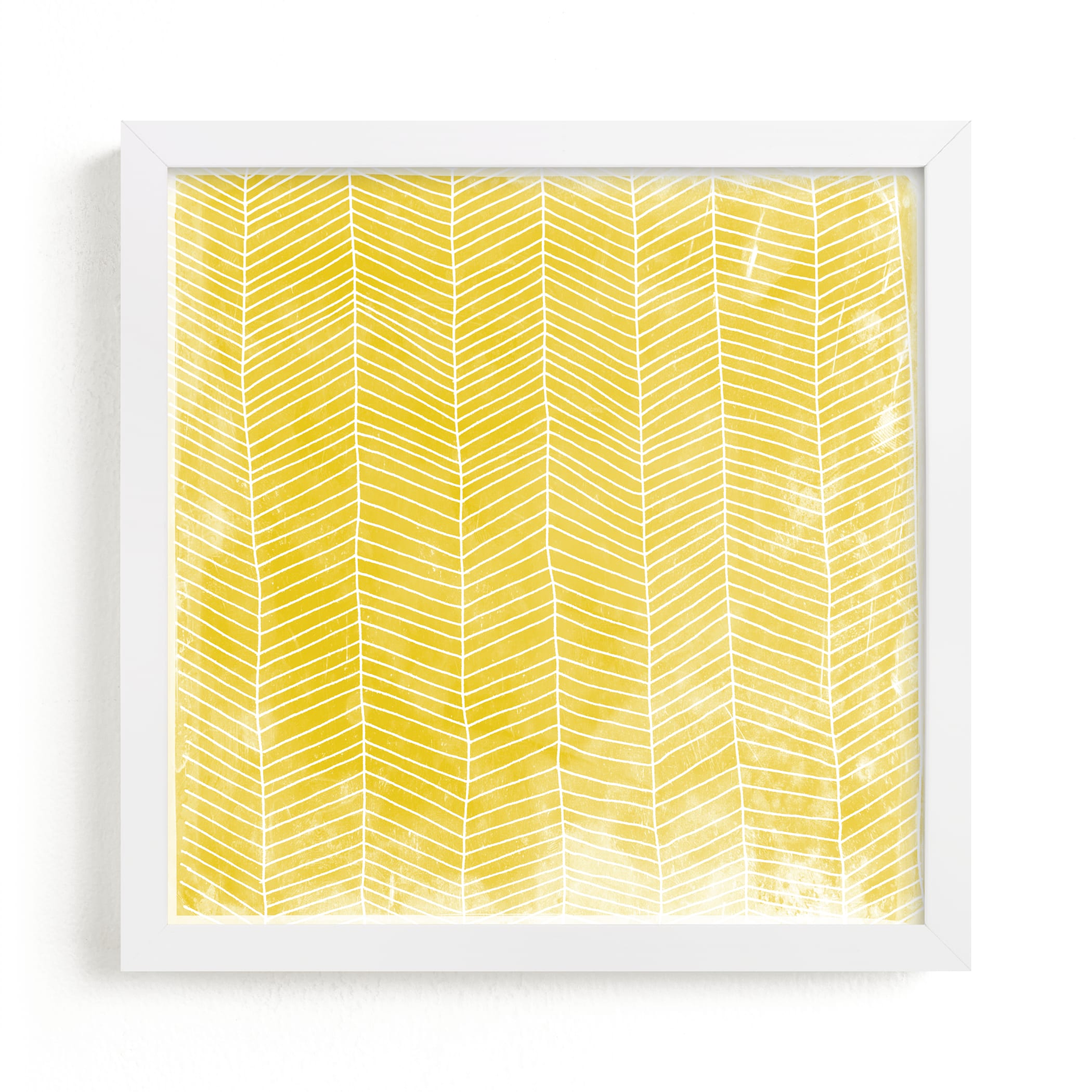 """""""Abstract Herringbone"""" - Limited Edition Art Print by Kerry Doyle - Paper Dahlia in beautiful frame options and a variety of sizes."""