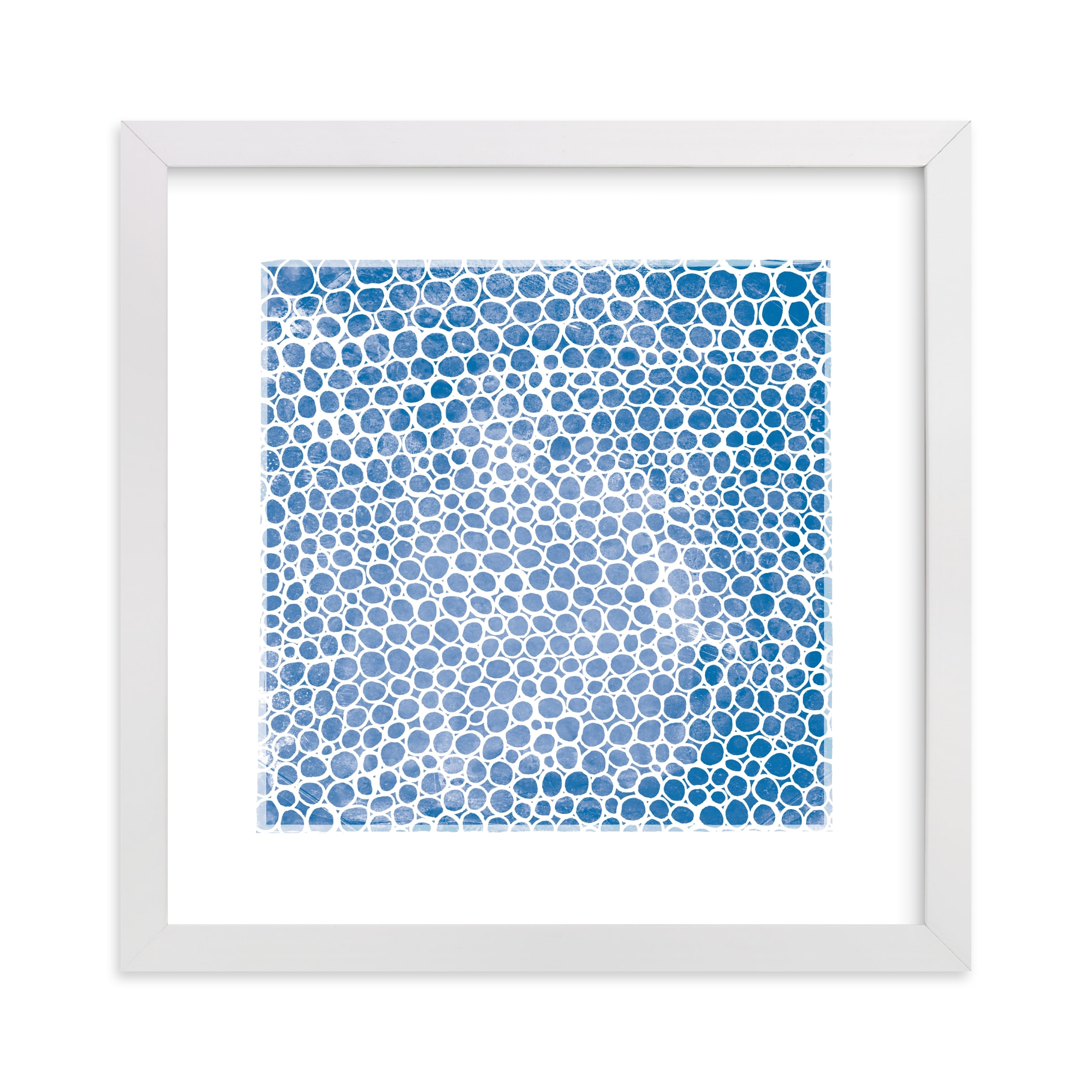 """""""Abstract Circles"""" - Limited Edition Art Print by Kerry Doyle - Paper Dahlia in beautiful frame options and a variety of sizes."""