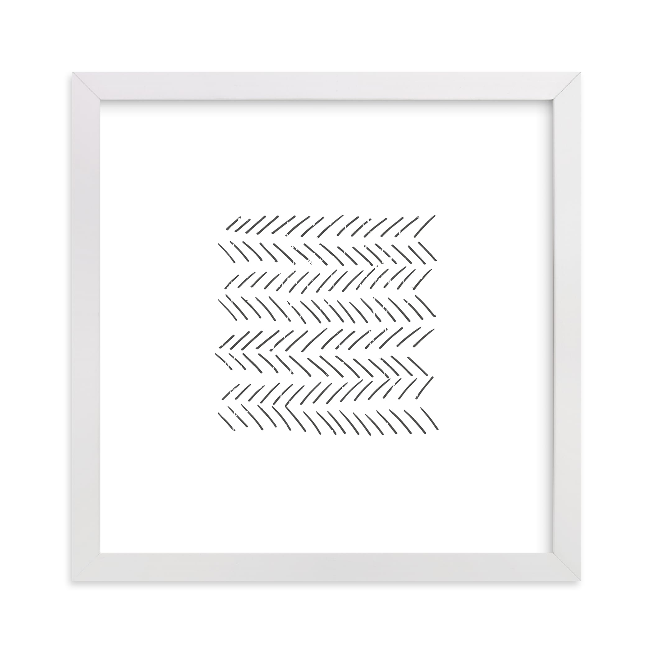 """""""Arrows"""" - Limited Edition Art Print by Waldo Press in beautiful frame options and a variety of sizes."""