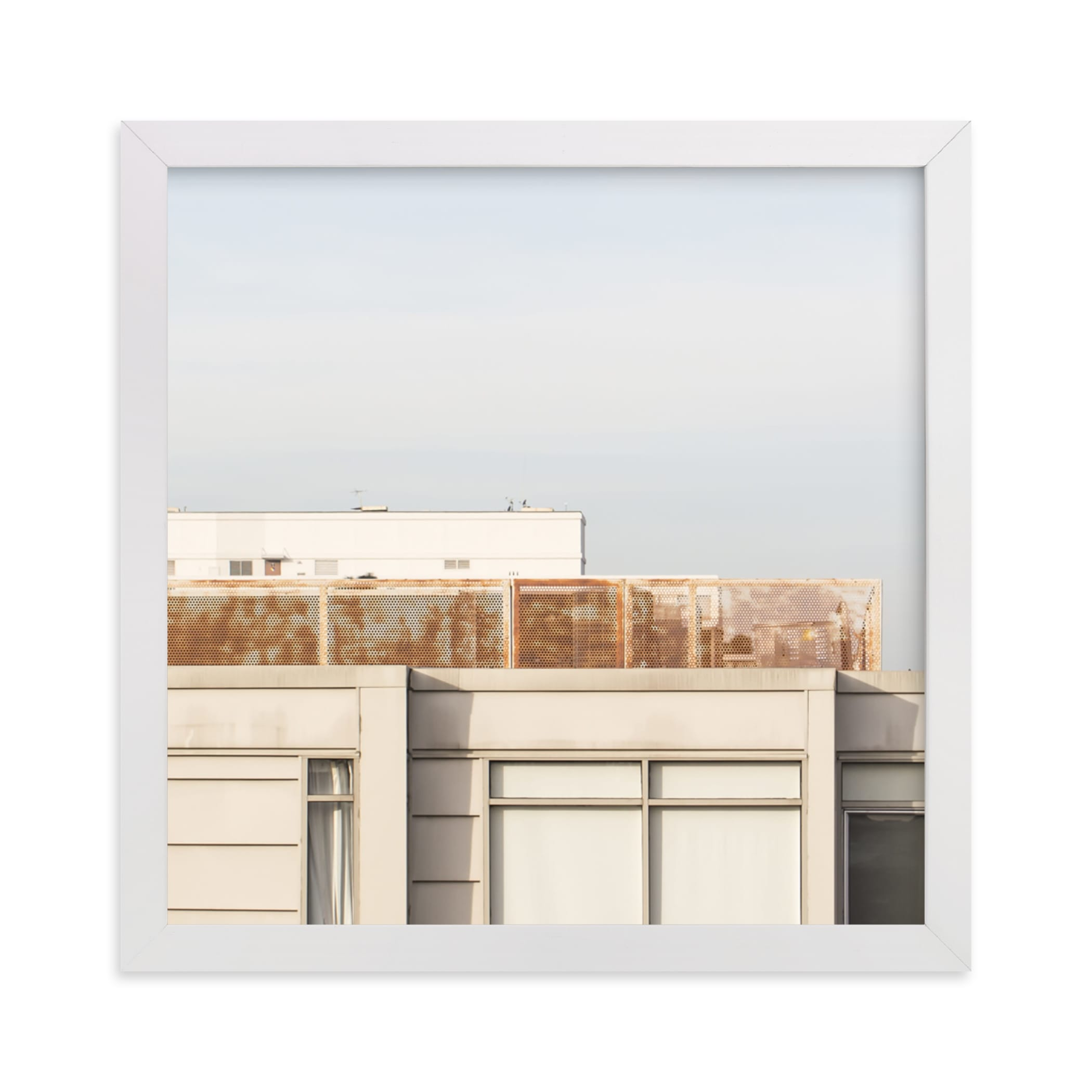 """""""City squares 2"""" - Limited Edition Art Print by Lisa Sundin in beautiful frame options and a variety of sizes."""