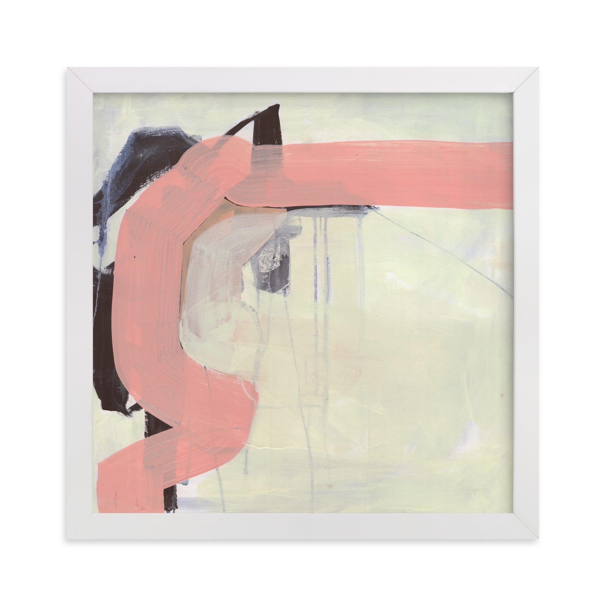 Pink Vibe Art Print