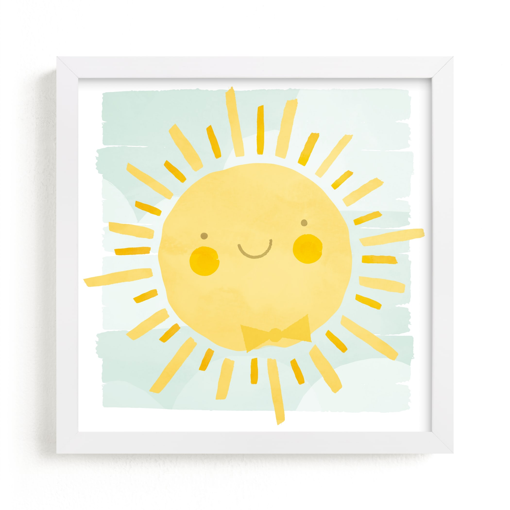 """""""Sunny"""" - Limited Edition Art Print by Susan Asbill in beautiful frame options and a variety of sizes."""