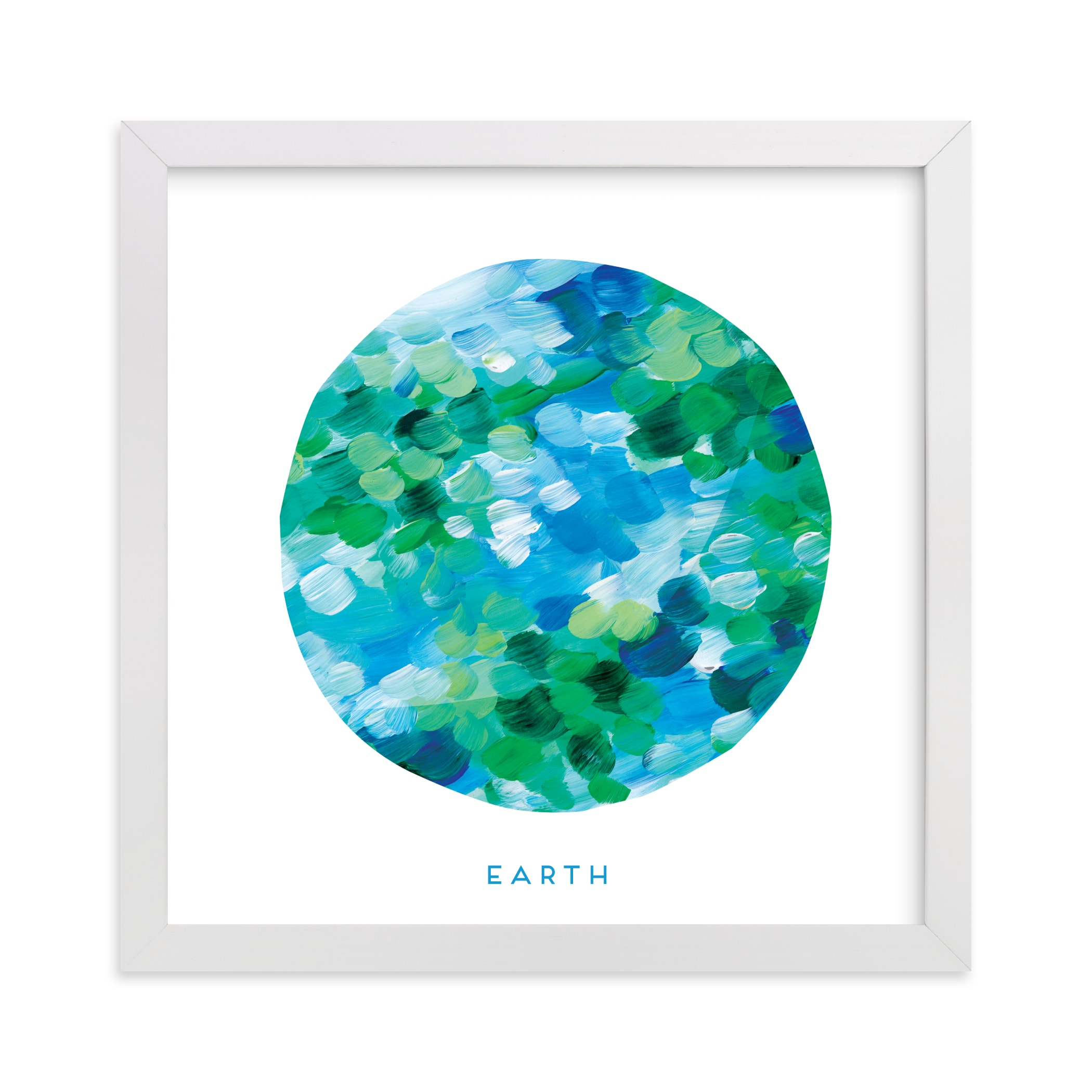 """""""Painted Earth"""" - Limited Edition Art Print by Holly Whitcomb in beautiful frame options and a variety of sizes."""