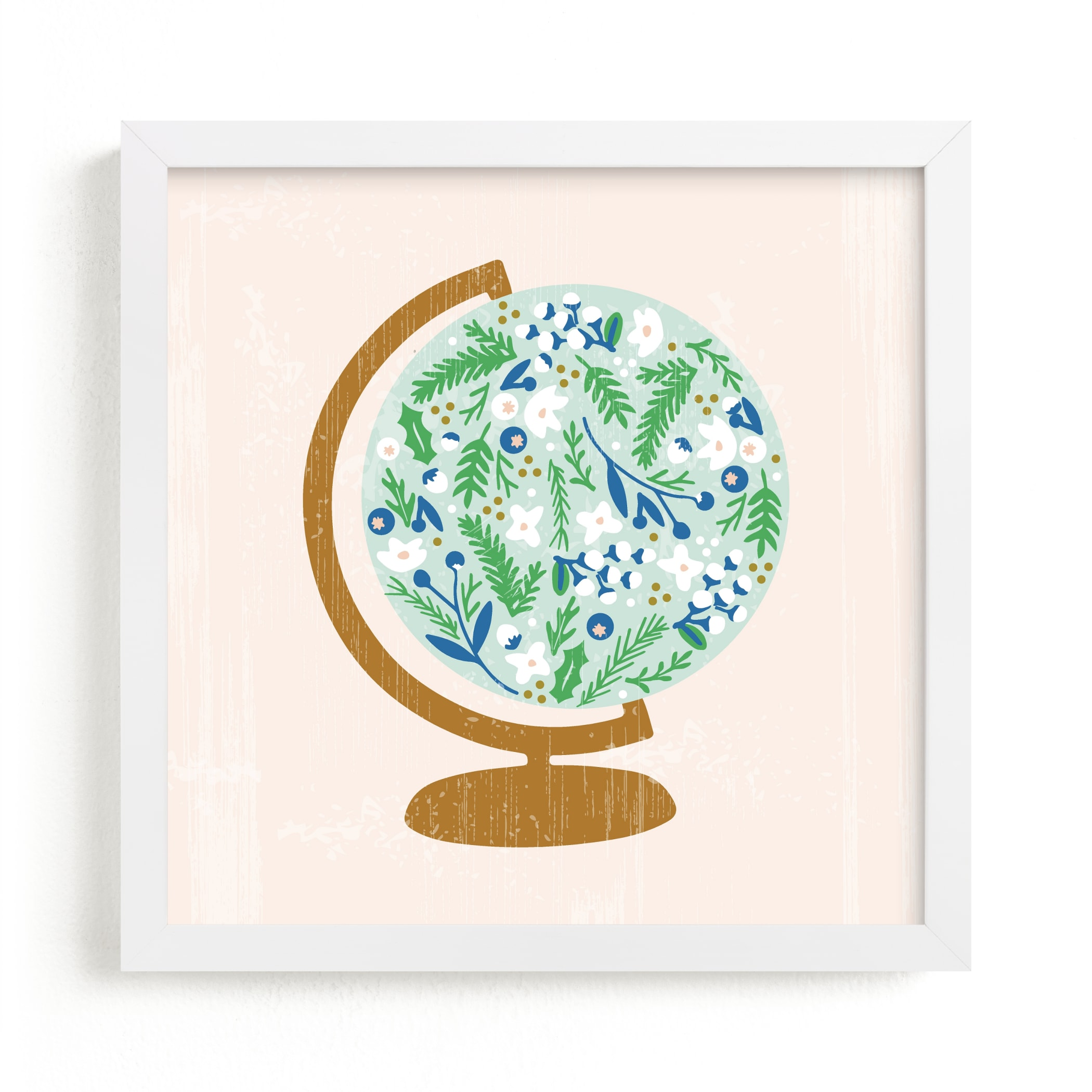 """""""Global Flor"""" - Limited Edition Art Print by Marabou Design in beautiful frame options and a variety of sizes."""
