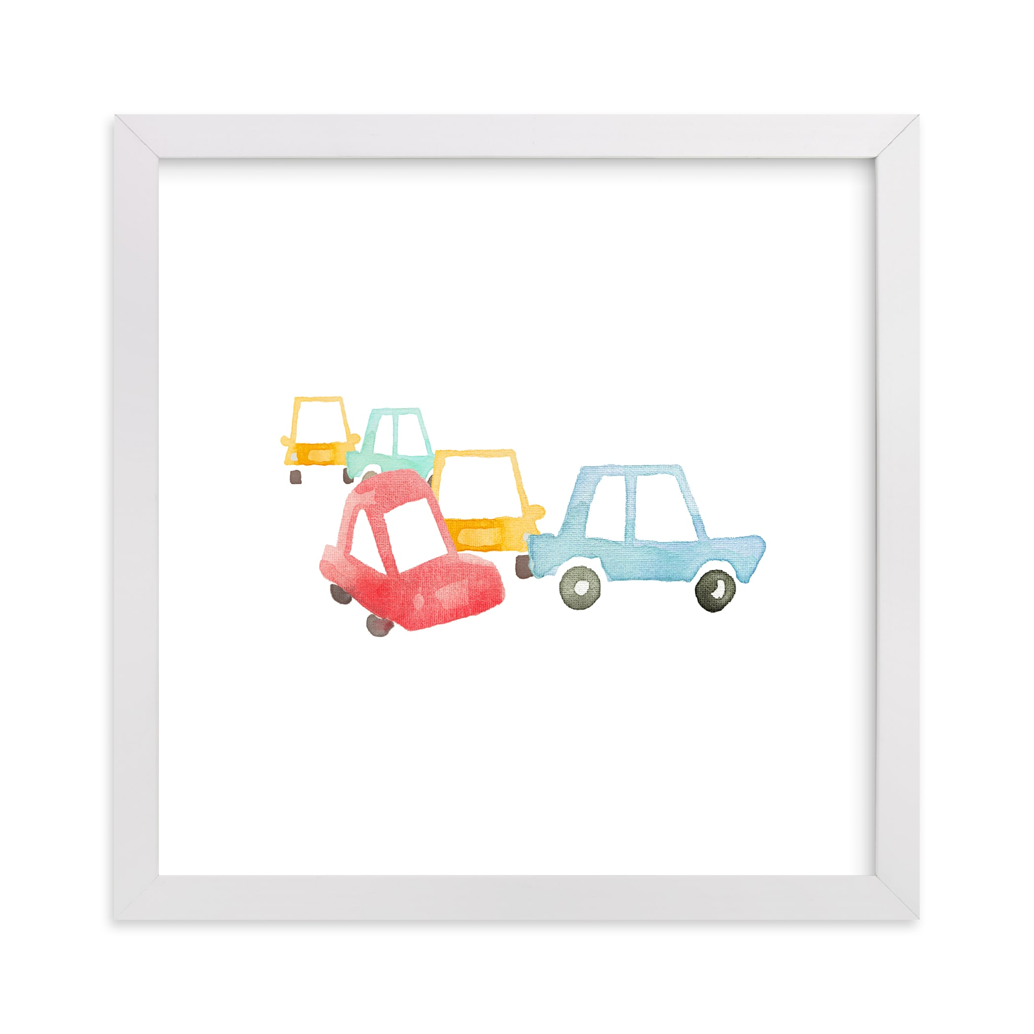 """Car Art"" by Jan Dolby in beautiful frame options and a variety of sizes."
