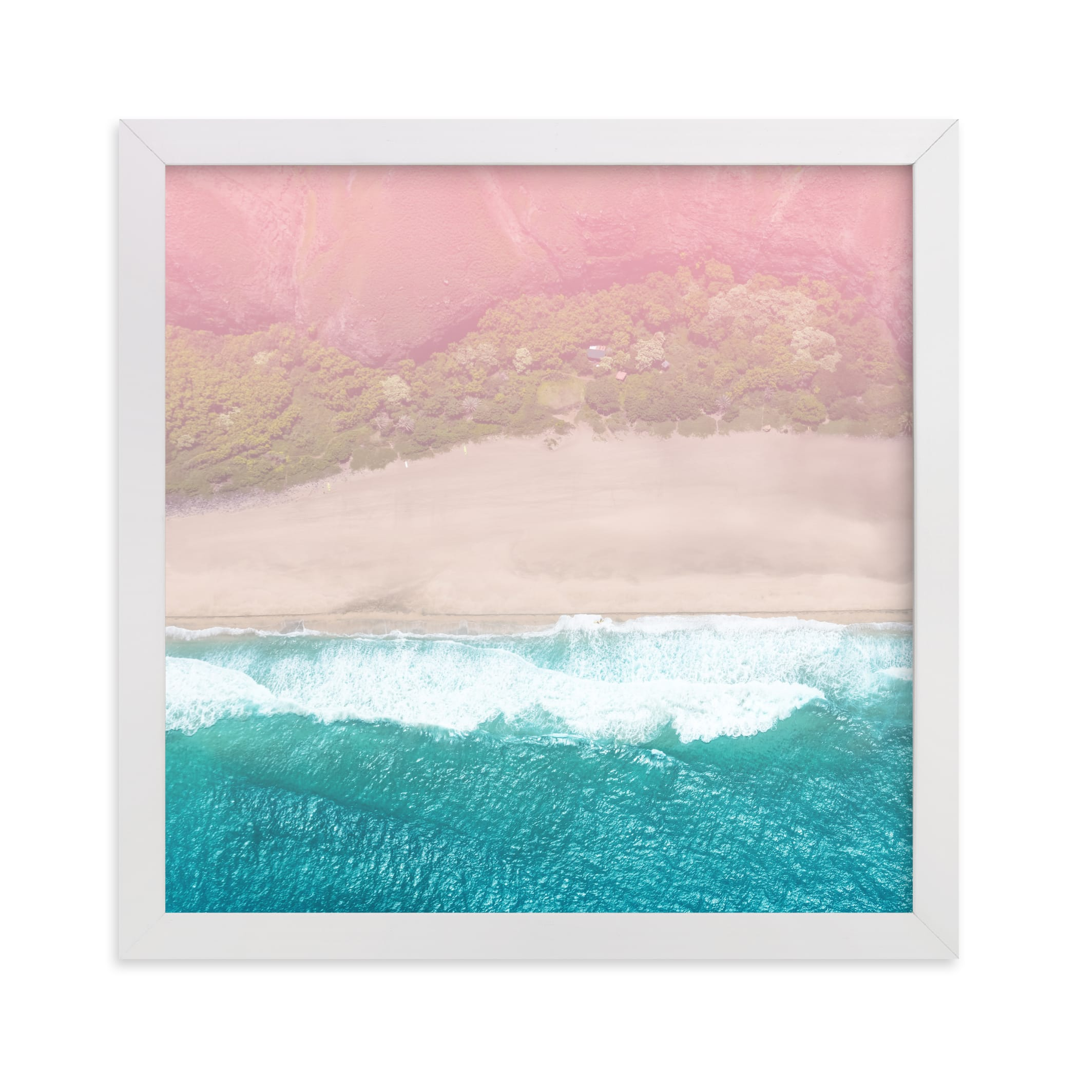 """""""Secret Beach"""" by Jessica C. Nugent in beautiful frame options and a variety of sizes."""