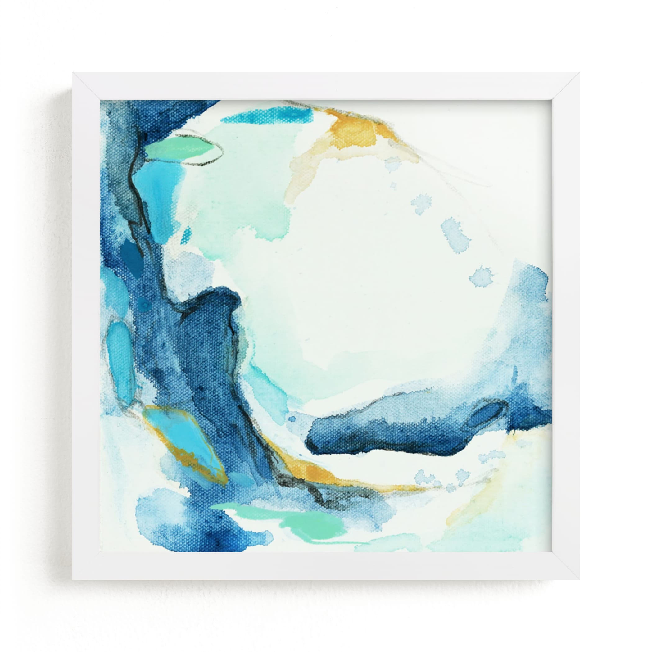 """""""Tide Pool #1"""" - Art Print by Mya Bessette in beautiful frame options and a variety of sizes."""
